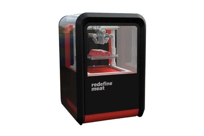 3D-Printed Meat Alternatives