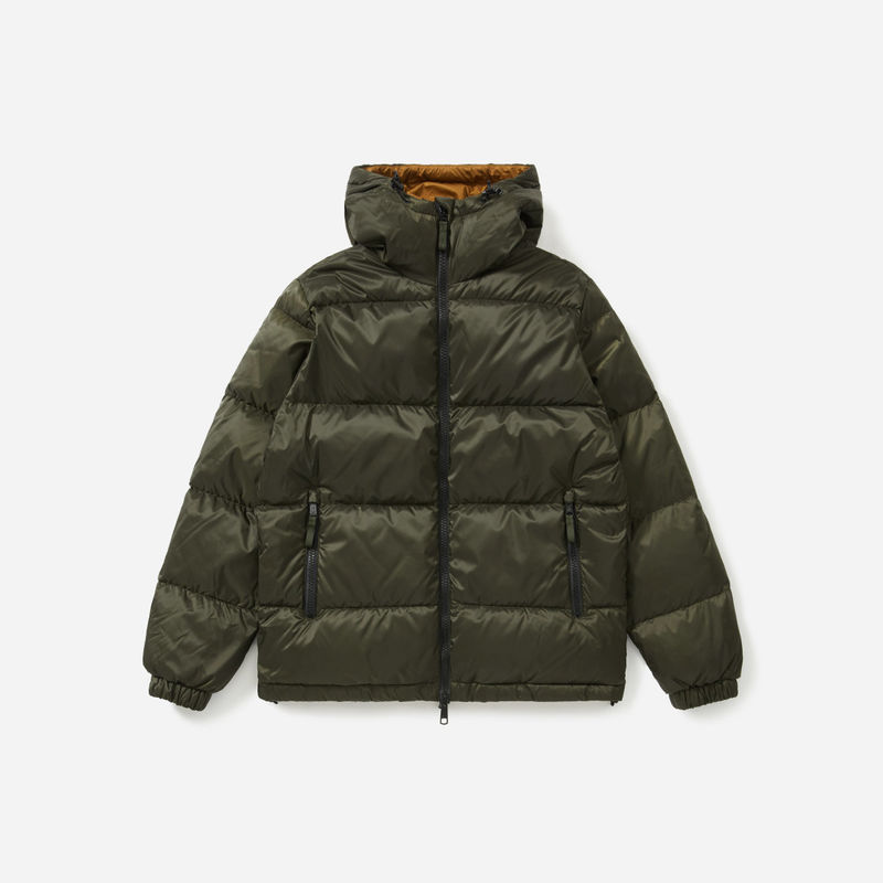 Recycled Down Puffer Jackets