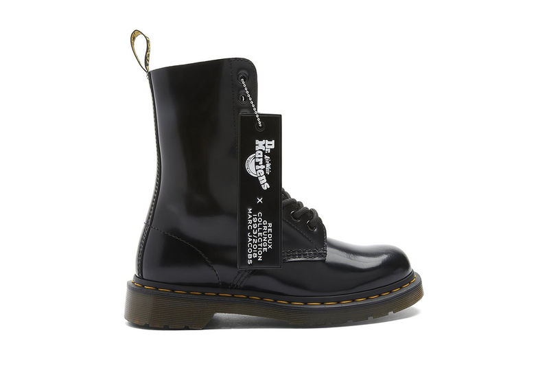 Revived Co-Branded Combat Boots
