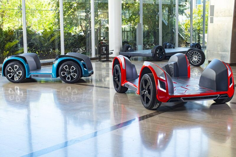 Modular Electric Vehicle Chassis'