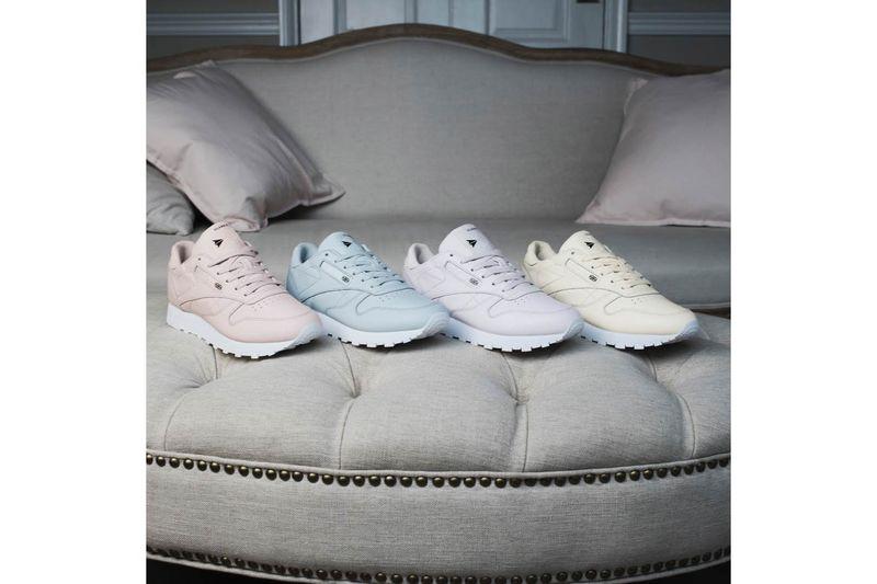 Vintage-Inspired Pastel Sneakers