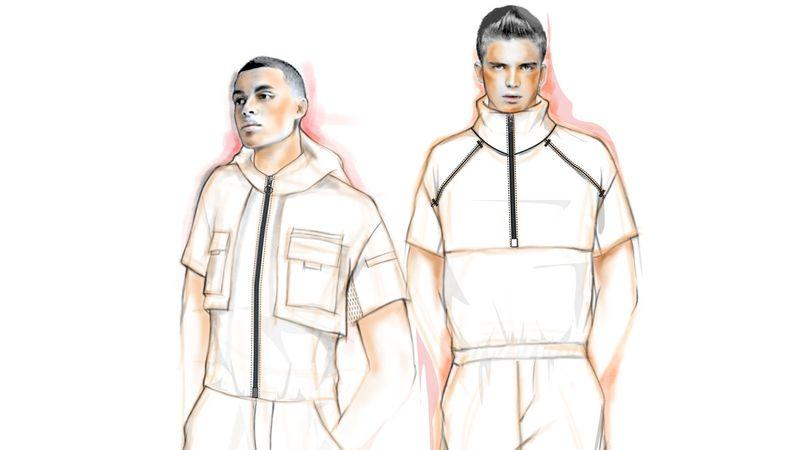 Designer Male Rompers