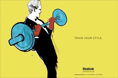 Stylish Exercising Ads