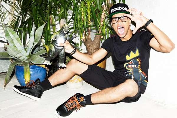 Playful Hipster Sportswear