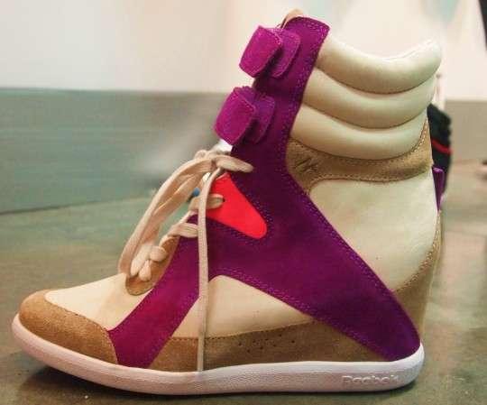 Celebrity Wedge Sneakers