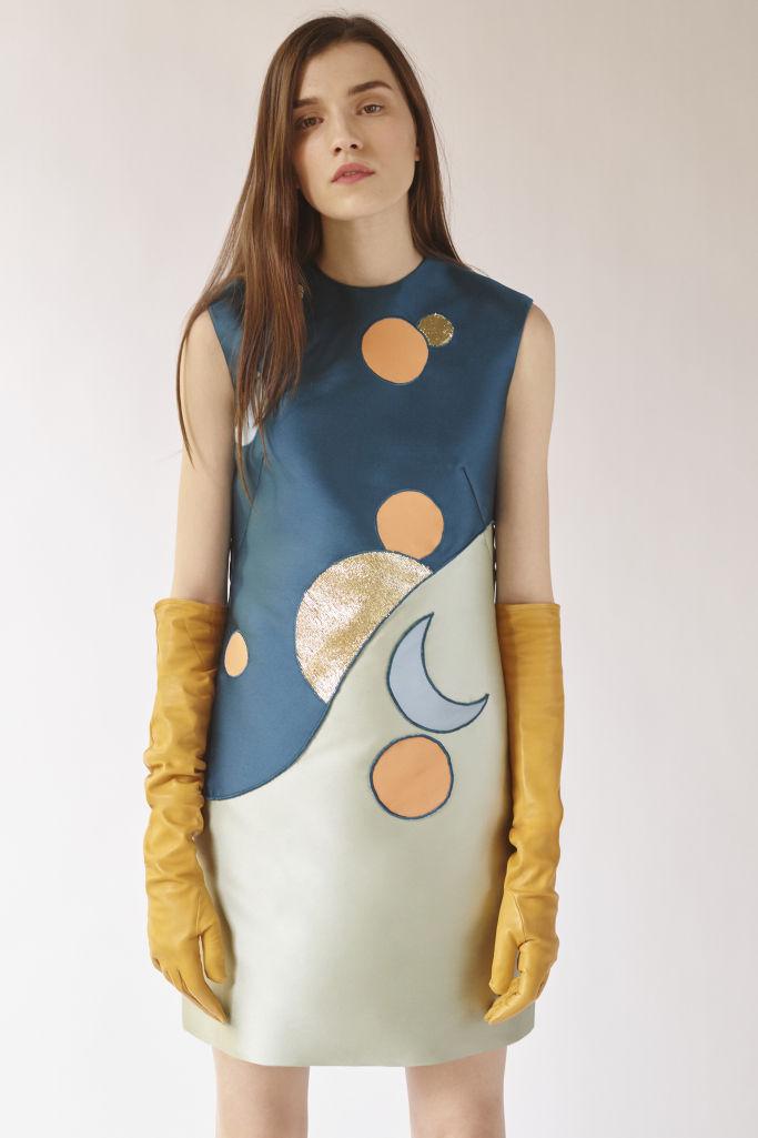 c79f66f6c53b Celestial Motif Dresses : Reem Acra Fall 2018