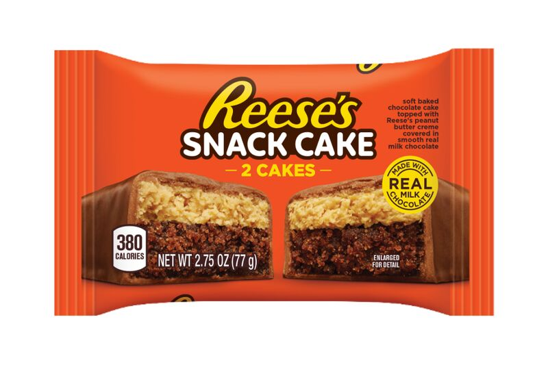 Chocolate Candy Snack Cakes