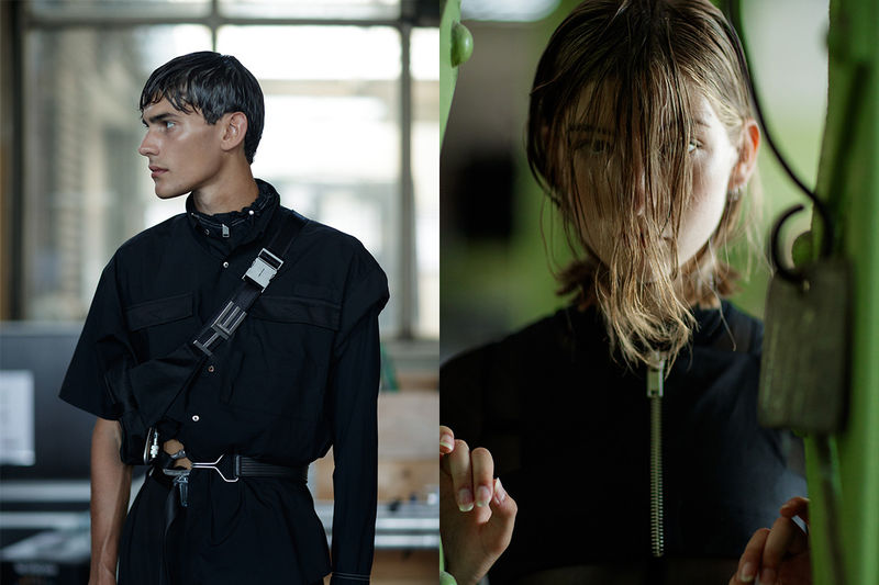 Dark Techno-Inspired Fashion