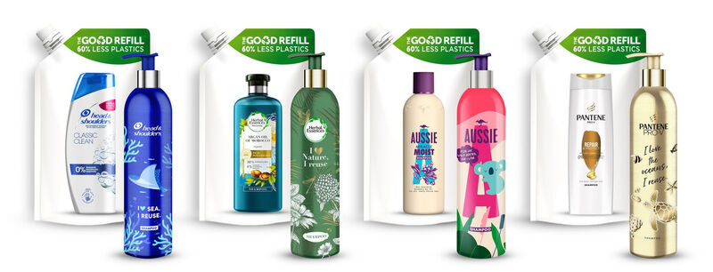 Refillable Shampoo Packaging