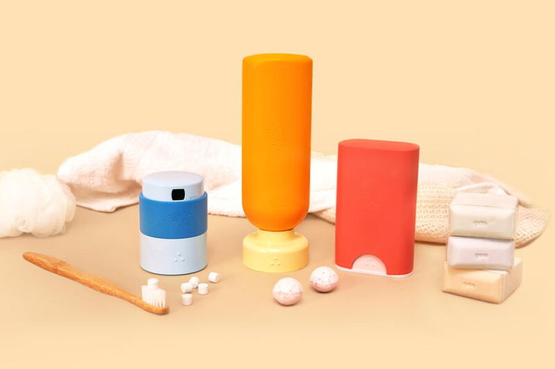 Refillable Toiletry Concepts