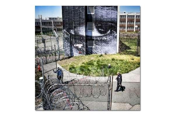 Reflective Prison Art