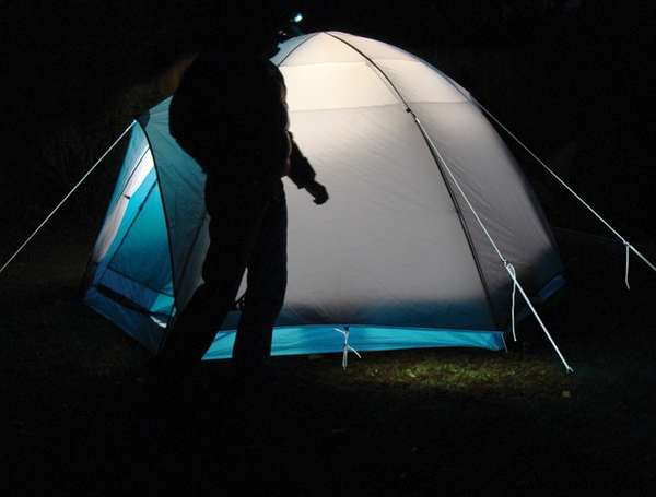 Illuminating Camping Gear