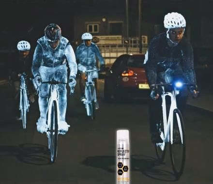 Reflective Cyclist Sprays