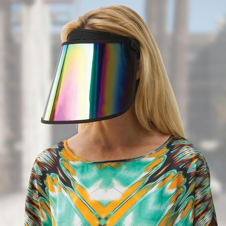 Face-Shielding Visors