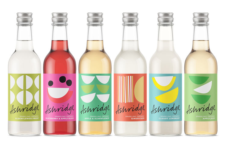 Refreshing Drink Branding