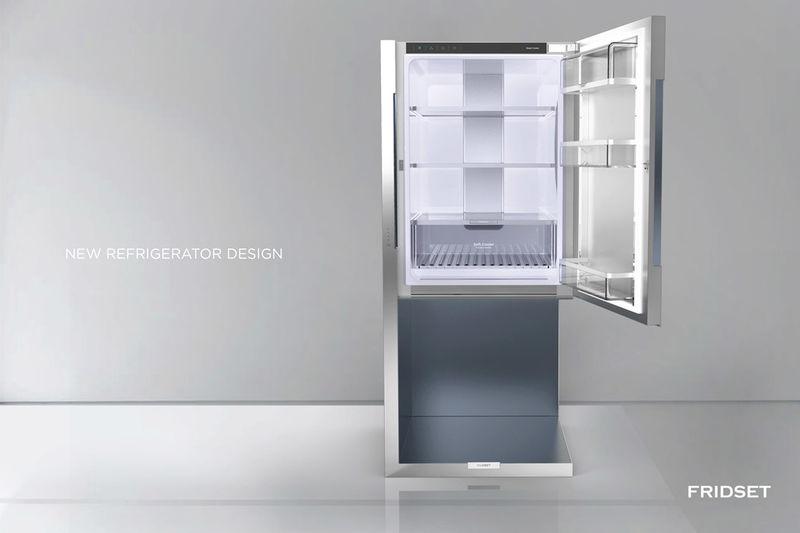 Suspended Refrigerator Designs