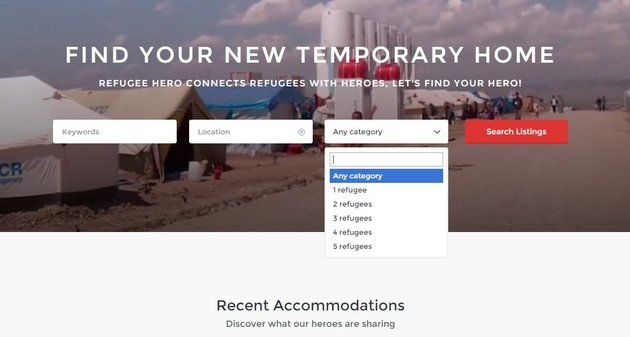 Refugee Housing Platforms