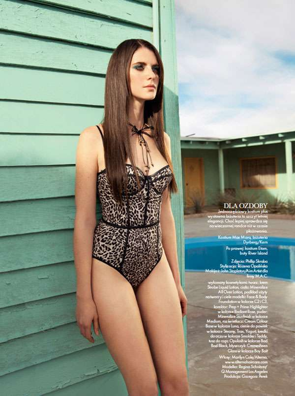 Corset-Inspired Swimwear