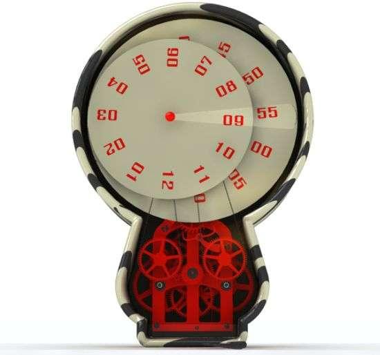 Kinetic Gear Clocks
