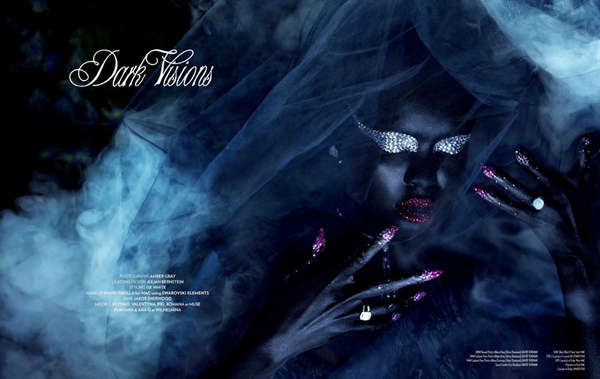 Mystical Beauty Editorials