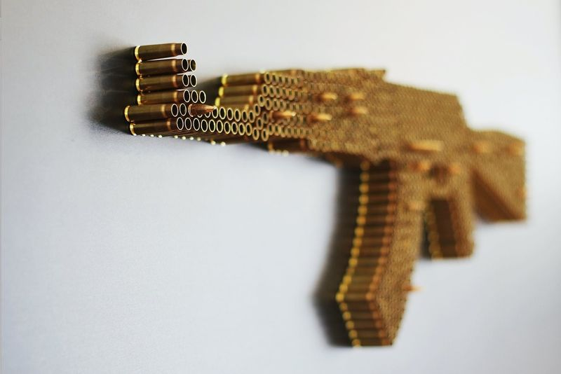 Poignant Firearm Artwork