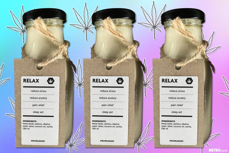 Cannabinoid Seed Milks
