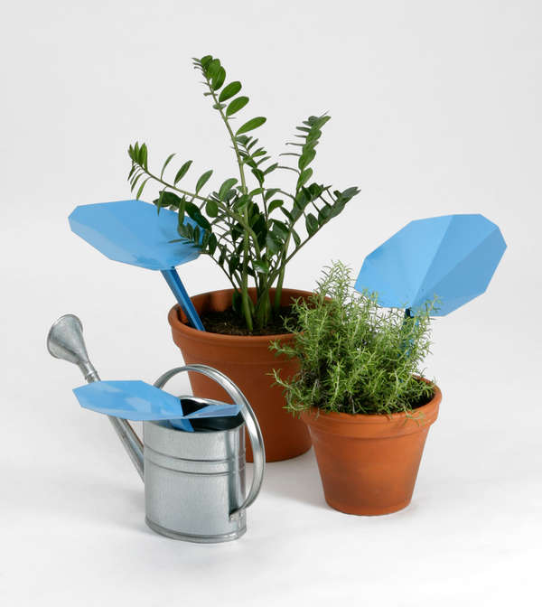 Eco-Friendly Foliage Funnels