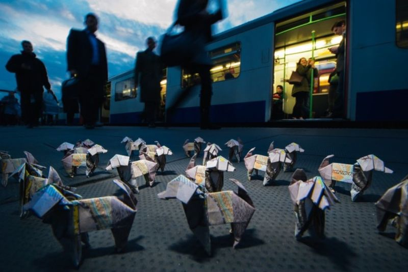 Canine Origami Campaigns