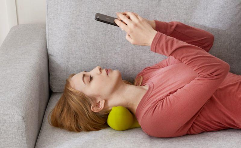 Muscle-Stimulating Neck Massagers