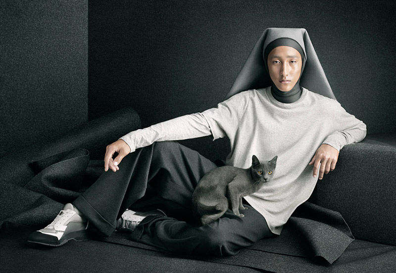 Masculine Nun Apparel