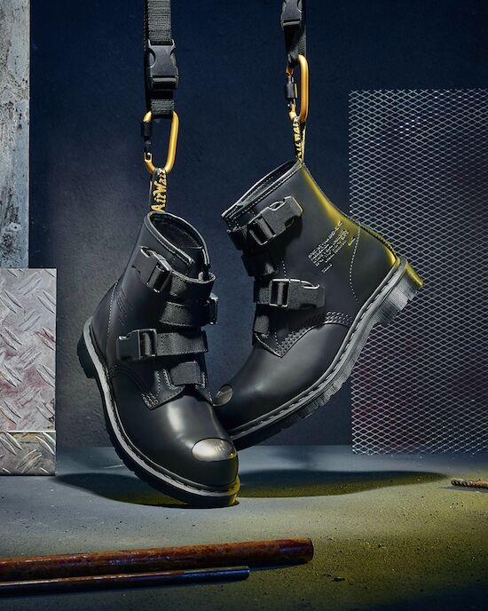 Fall-Ready Rugged Buckled Boots