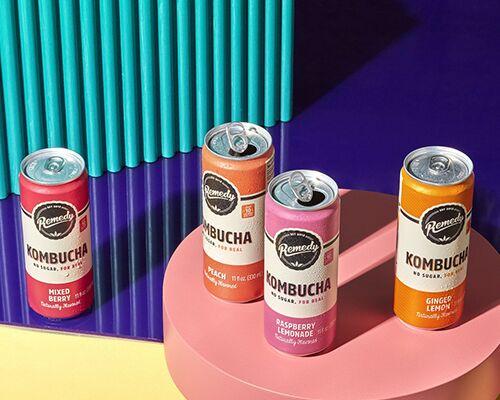 Free-From Kombucha Beverages