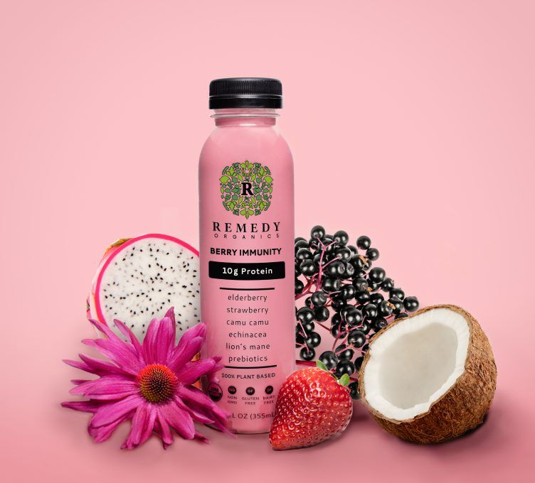 Immunity-Enhancing Protein Drinks