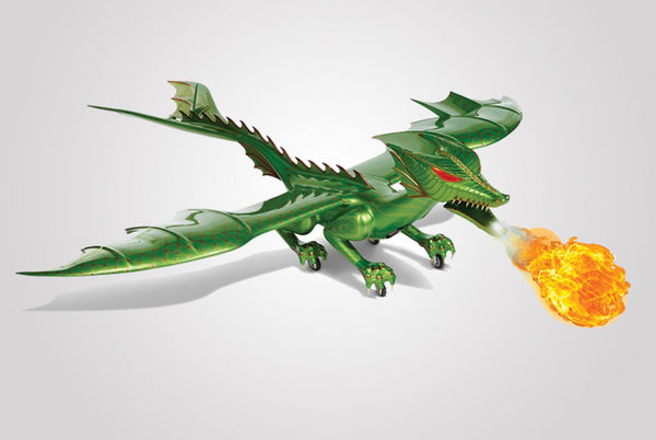 Fire-Breathing Dragon Toys