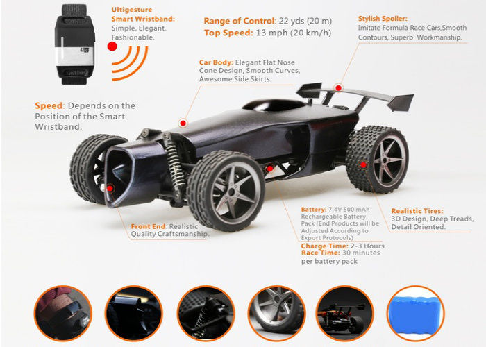 Movement Tracking Rc Cars Remote Control Toy Car