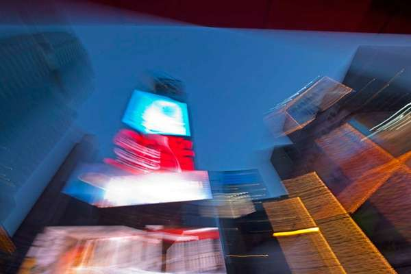 Blurred Metropolis Photography