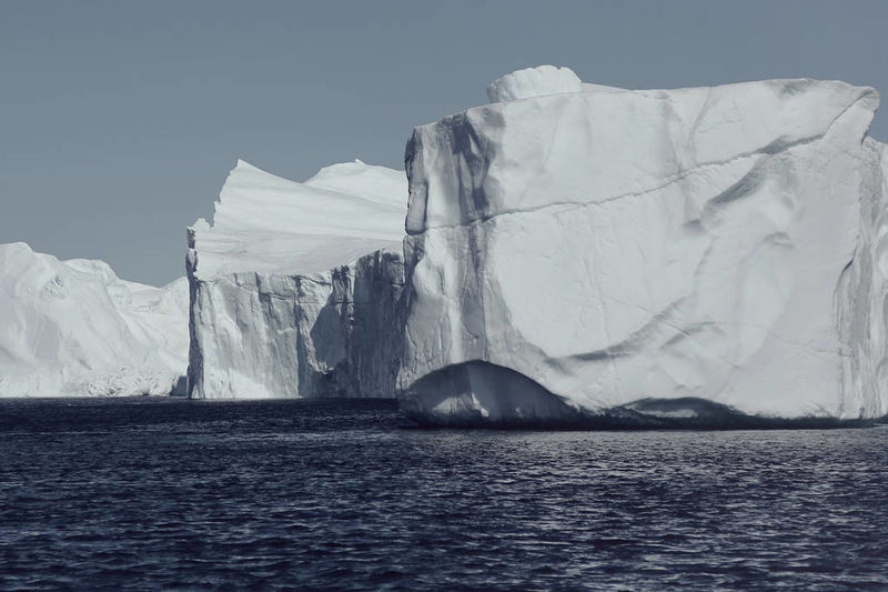 Eerie Iceberg Photography