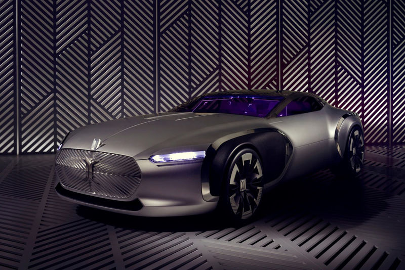 Architect Honoring Luxury Cars Renault Coupe Corbusier
