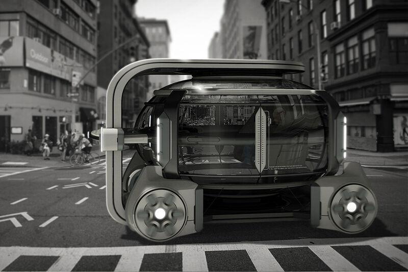 Work-Friendly Transportation Pods