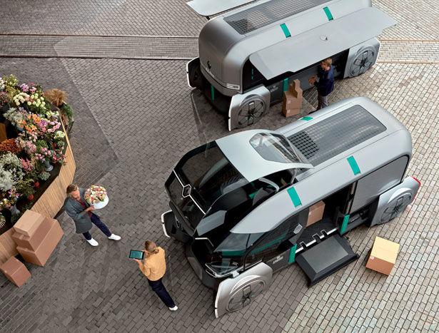 Autonomous Urban Delivery Vehicles