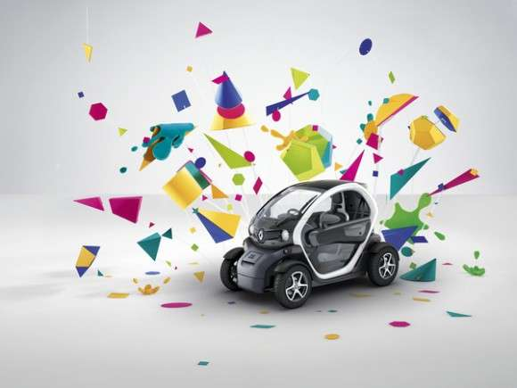 Colorful Car Campaigns