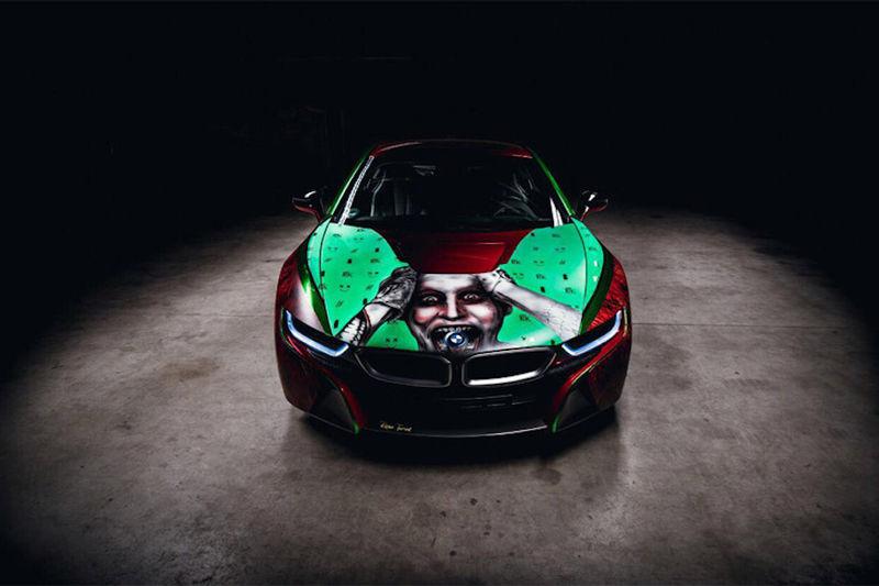 Graffiti-Painted Cars
