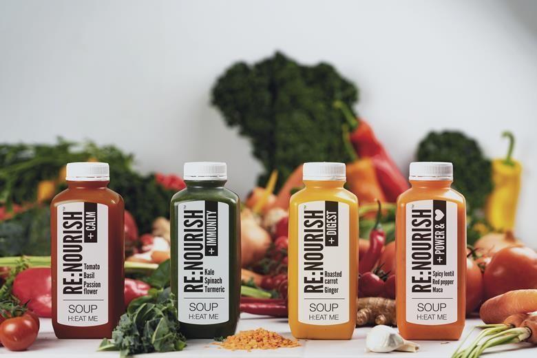 Nutritious Heatable Bottle Soups