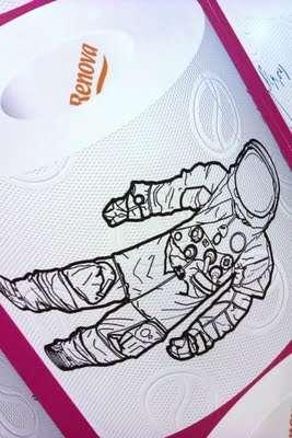Illustrated Bathroom Tissues