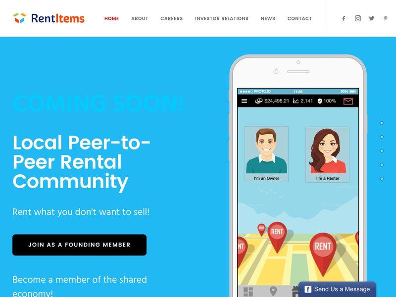 Sharing Economy Rental Marketplaces