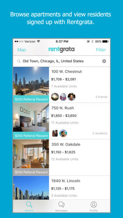 Apartment Referral Apps