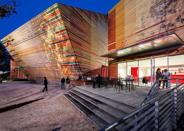 Kaleidoscopic Geometrical Auditoriums