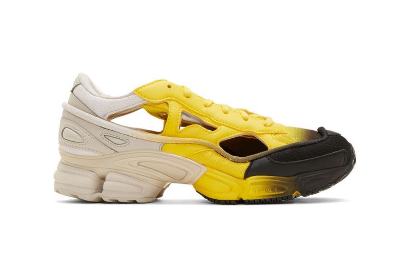 Gradient-Tonal Cut-Out Sneakers