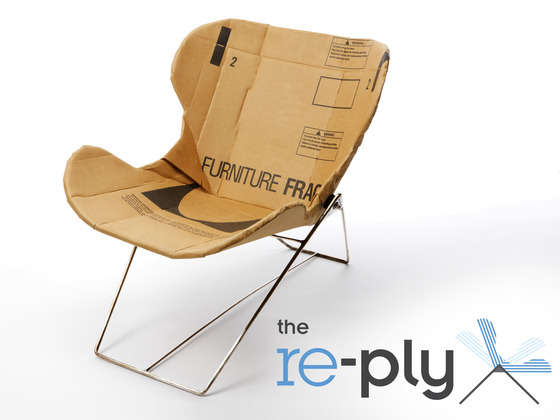 Posh Cardboard Seating