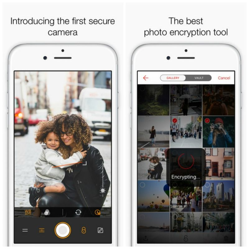 Encrypted Photo Apps